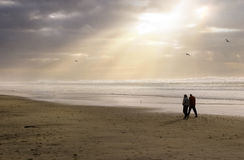 Praia tranquilo fotografia de stock