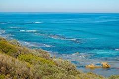 Praia traseira - Sorrento, Austrália Fotografia de Stock Royalty Free