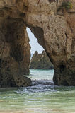 Praia Tres Irmaos in Alvor Algarve Portugal. Royalty Free Stock Image
