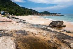 Praia Trindade Rio de Janeiro de Cepilho Imagens de Stock