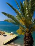 Praia tropica Foto de Stock Royalty Free