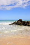 Praia tropical Foto de Stock Royalty Free