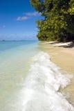 Praia tropical Foto de Stock