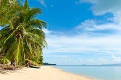 Praia tropical Fotografia de Stock
