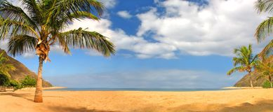 Praia tropical Fotos de Stock