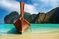 Praia tropical fotografia de stock royalty free