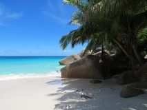 Praia tropical a angra lazio Fotografia de Stock Royalty Free