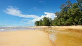 Praia tropical bonita filme