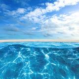 Praia tropical do console Imagens de Stock Royalty Free