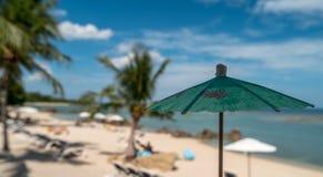 Praia tropical em Tailândia Foto de Stock Royalty Free