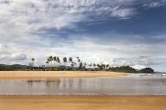 Praia tropical em Terengganu, Malásia Foto de Stock