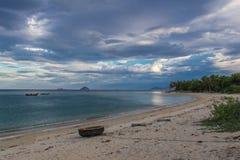 Praia tropical em Vietname Imagem de Stock
