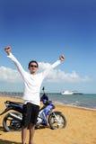 Praia tropical exótica Foto de Stock Royalty Free