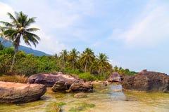 Praia tropical - Langkawi imagens de stock