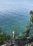 Praia tropical - Langkawi Fotos de Stock Royalty Free