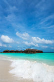 Praia tropical perfeita do paraíso da ilha Imagem de Stock Royalty Free