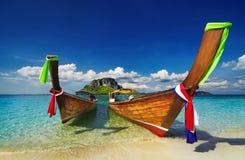 Praia tropical, Tailândia Imagem de Stock