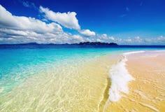 Praia tropical, Tailândia Fotografia de Stock