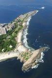 Praia tun Arpoador, Rio de Janeiro Stockfotos