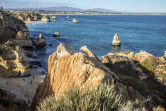 Praia tun Camilo lizenzfreie stockbilder