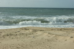 Praia tun Flächen kein Verão - Lourinhã - Portugal Lizenzfreies Stockbild