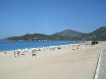 Praia Turquia de Oludeniz Imagem de Stock