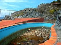 Praia uma égua - associação na ilha de Dino Imagens de Stock