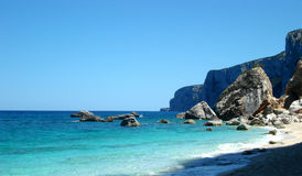 Praia Undefiled Imagem de Stock