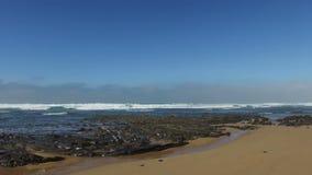 Praia Vale Figueiras Portugal stock video