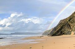 Praia Vale Figuiras in Portugal Stock Image