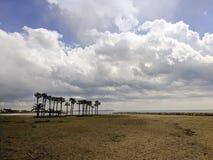 Praia vazia Imagem de Stock