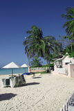 Praia vazia Fotografia de Stock