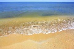 Praia vazia Imagens de Stock Royalty Free