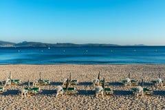 Praia vazia no Rias Baixas, Galiza Fotografia de Stock Royalty Free