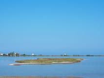 Praia velha do ai Gyra do moinho de vento Fotos de Stock Royalty Free