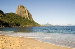 Praia Vermelha Stock Image