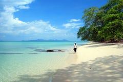 Praia VI de Andaman Imagens de Stock