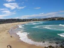 Praia viril Imagem de Stock