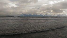 Praia vulcânica de Havaí imagens de stock royalty free