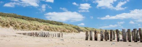 Praia, Zeeland imagem de stock
