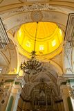 Praiano Amalfi church Piazza San Gennaro Royalty Free Stock Images