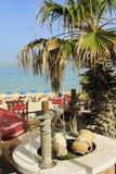 Praias Bat Yam, Israel imagem de stock