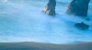 Praias coatal e paisagens de Big Sur do Oceano Pacífico Foto de Stock Royalty Free