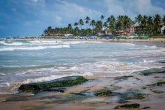 Praias de Brasil - Porto de Galinhas Fotos de Stock Royalty Free