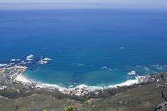 Praias de Clifton Fotos de Stock Royalty Free