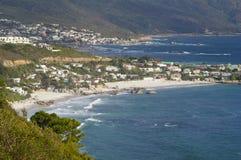 Praias de Clifton imagens de stock royalty free