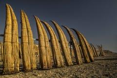 Praias de Pimentel no chiclayo - Peru imagens de stock
