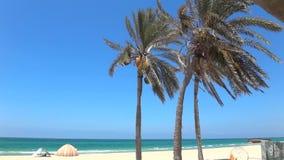 Praias do mar no Médio Oriente e no turismo interessante filme