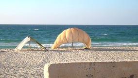 Praias do mar no Médio Oriente e no turismo interessante video estoque