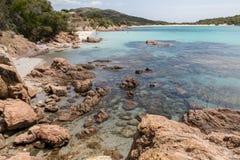 Praias em Córsega Fotos de Stock